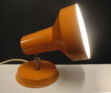Retro Oranje WandLamp 1