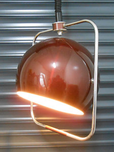 Retro Bruine Pendule Hanglamp 2