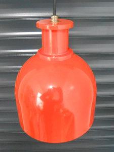 Retro Oranje Metalen Hanglamp 1
