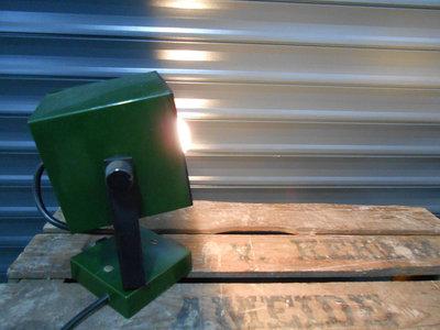 Retro Groene Kubus Wandlamp
