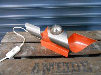 Vintage Design Oranje RAAK Wandlamp 1