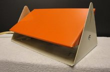 Vintage BedLamp Oranje 1